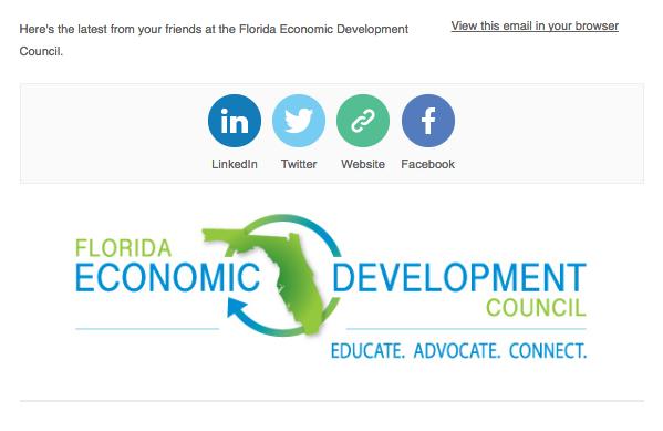 Sample FEDC newsletter